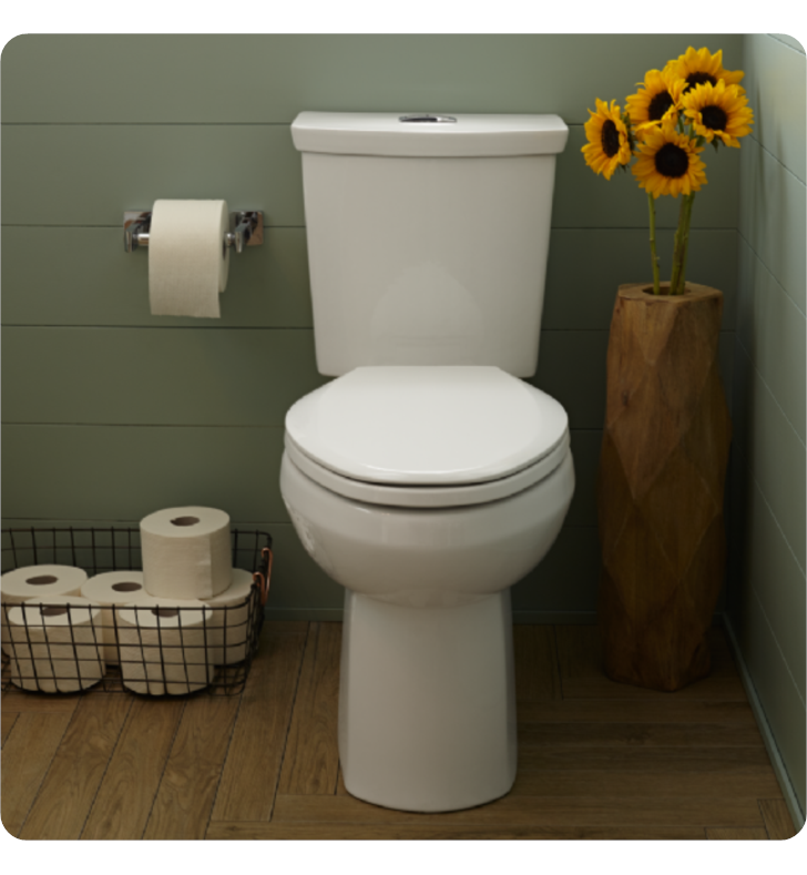 American Standard 2887518 H2option Dual Flush Elongated
