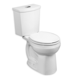 American Standard 2889218 H2Option Dual Flush Round Front Unlined Tank 0.92/1.28 gpf Toilet