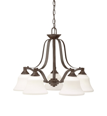 Kichler 1782OZ Chandelier 5 Light in Olde Bronze