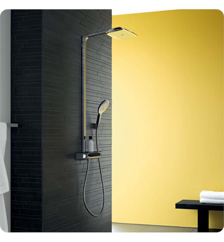 hansgrohe 27112 raindance select e 360 42 shower set with showerhead and handshower. Black Bedroom Furniture Sets. Home Design Ideas