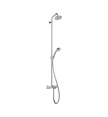 Hansgrohe 27143821 Croma Green Tub Shower Showerpipe, 2.0 GPM With Finish: Brushed Nickel