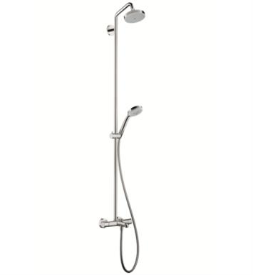 "Hansgrohe 27143 Croma Green 62"" Tub/Shower Set with Multi Function Showerhead and Handshower"