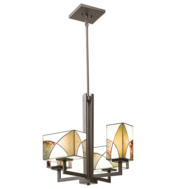 Kichler 66073 Elias Collection Chandelier 4 Light in Olde Bronze