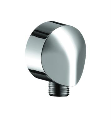 "Hansgrohe 27458833 2 3/8"" Wall Outlet with Check Valves With Finish: Polished Nickel"