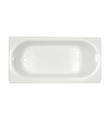 American Standard 2390202.222 Princeton 60 Inch by 30 Inch Integral Apron Bathtub With Left Hand Drain Outlet With Finish: Linen