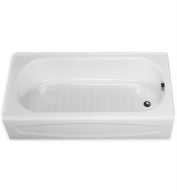 American Standard 0255212.020 New Salem 60 Inch by 30 Inch Integral Apron Bathtub With Finish: White And Outlet: Left Hand Outlet