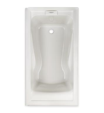 222 evolution 60 inch by 32 inch deep soak bathtub with finish linen