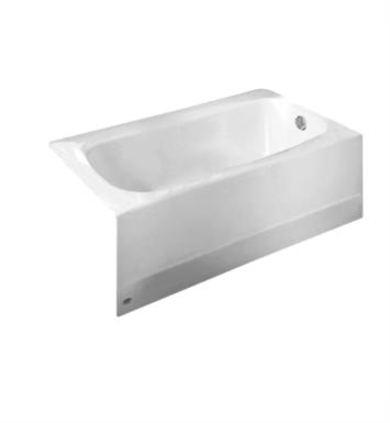 american standard cambridge 60 inch by 32 inch integral apron bathtub with right hand drain