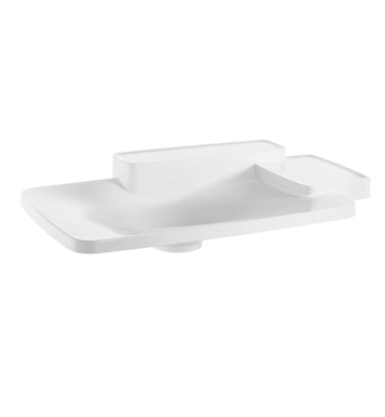 Hansgrohe 19943000 Axor Bouroullec Drop In Washbasin with Two Shelves, Large
