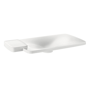 Hansgrohe 19945000 Axor Bouroullec Drop In Washbasin with One Shelf, Large