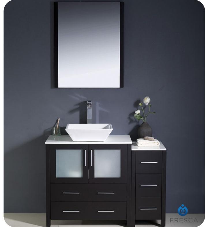 Fresca FCB62 3012ES Torino 42 Espresso Modern Bathroom Cabinets