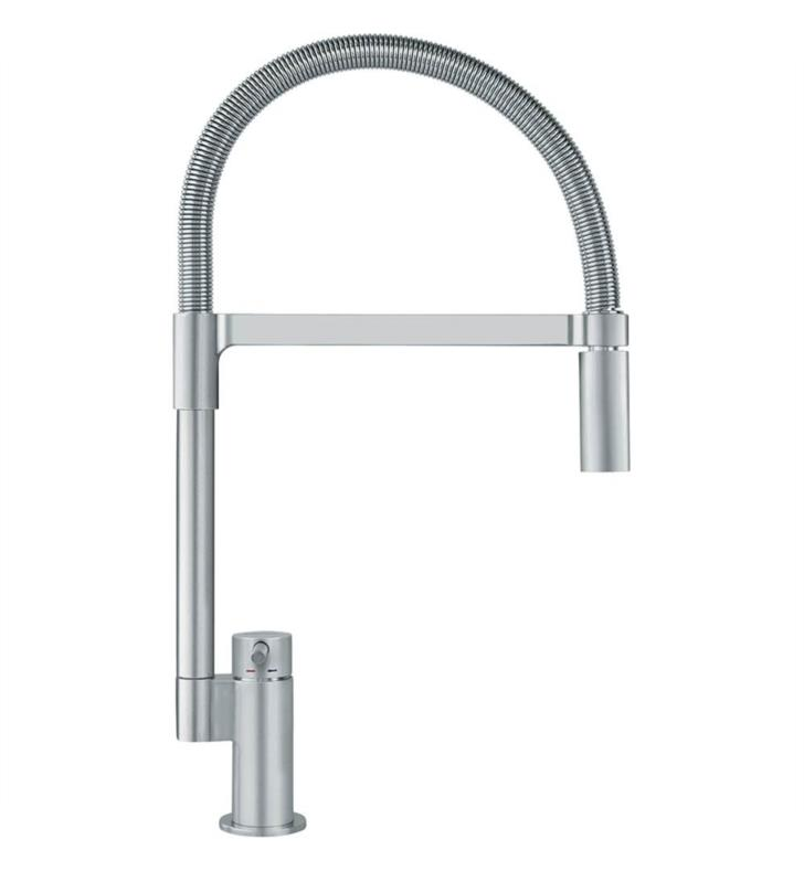 Franke Kitchen Faucet: Franke FF2980 Manhattan High Arch Pulldown Spray Kitchen