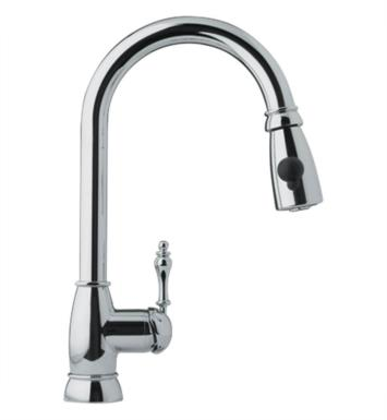 Franke FHPD180 Farm House Pulldown Spray Kitchen Faucet With Finish: Satin Nickel