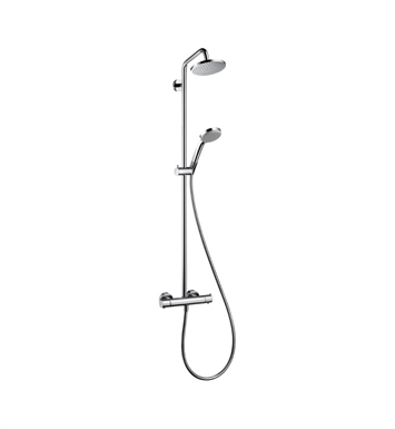 Hansgrohe 27169821 Croma Green Showerpipe, 2.0 GPM With Finish: Brushed Nickel