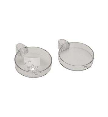 Hansgrohe 28675000 Cassetta S Double Soap Dish
