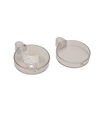 "Hansgrohe 28675000 Cassetta S 5 1/2"" Double Soap Dish in Clear"