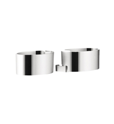 Hansgrohe Raindance Cassetta Double Soap Dish Holder in Chrome