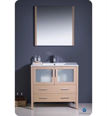 Fresca FCB6236LO I Torino 36 Light Oak Modern Bathroom Cabinet