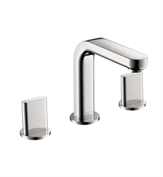 Hansgrohe 31063 Metris S Widespread Faucet with Full Handles