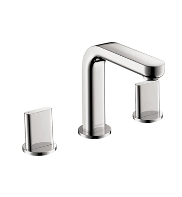 Hansgrohe 31063821 Metris S Widespread Faucet with Full Handles With Finish: Brushed Nickel