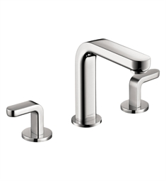 Hansgrohe Metris S Widespread Faucet with Lever Handles