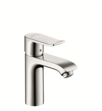 "Hansgrohe 31080 Metris 110 6"" Single Handle Deck Mounted Bathroom Faucet with Pop-Up Assembly"