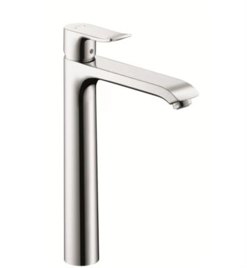"Hansgrohe 31082 Metris 260 9 1/8"" Single Handle Deck Mounted Bathroom Faucet with Pop-Up Assembly"
