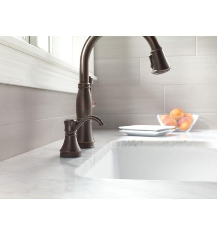 delta 72045t delta traditional touch soap dispenser Delta Single Handle Bathroom Faucet Moen Bathroom Faucets