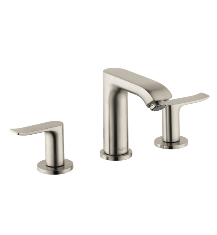 hansgrohe 31083 metris 100 widespread faucet. Black Bedroom Furniture Sets. Home Design Ideas