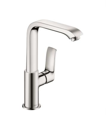 "Hansgrohe 31087821 Metris 230 6 1/8""  Single Handle Deck Mounted Bathroom Faucet with Pop-Up Assembly With Finish: Brushed Nickel"