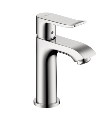 Hansgrohe 31088821 Metris 100 Single Hole Faucet With Finish: Brushed Nickel