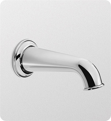 TOTO TS220E#PN Vivian™ Wall Spout With Finish: Polished Nickel