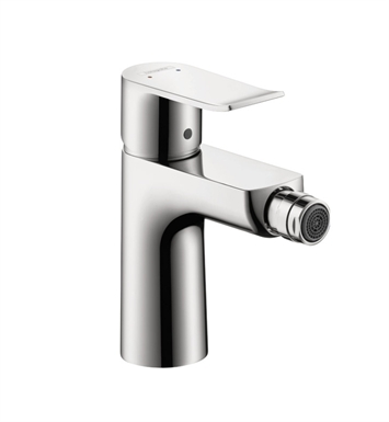 Hansgrohe 31280821 Metris Single Hole Bidet Faucet With Finish: Brushed Nickel