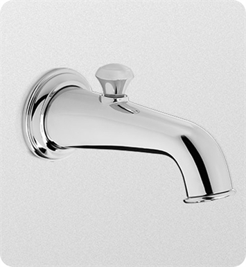 TOTO TS220EV#PN Vivian™ Diverter Wall Spout With Finish: Polished Nickel