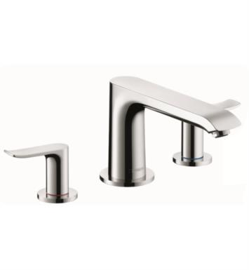 "Hansgrohe 31440 Metris 8 1/4"" Three Hole Widespread/Deck Mounted Roman Tub Set Trim with Lever Handle"