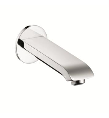 "Hansgrohe 31494821 Metris 7 5/8"" Wall Mount Tub Spout With Finish: Brushed Nickel"