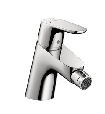 "Hansgrohe 31920001 Focus 6"" Single-Hole Deck Mounted Bidet Faucet With Finish: Chrome"