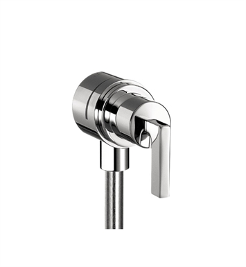 Hansgrohe 39882821 Axor Citterio Fix Fit Wall Outlet with Lever Handle With Finish: Brushed Nickel