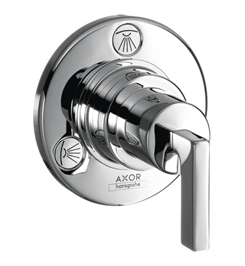 "Hansgrohe 39931001 Axor Citterio 4 1/4"" Trio/Quattro Diverter Trim with Lever Handle With Finish: Chrome"