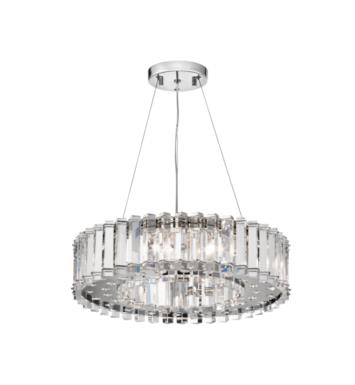 Kichler 42195CH Crystal Skye 8 Light Halogen Pendant in Chrome