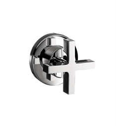 Hansgrohe Axor Citterio Volume Control Trim with Cross Handle