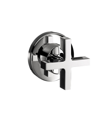 Hansgrohe 39967001 Axor Citterio Volume Control Trim with Cross Handle With Finish: Chrome