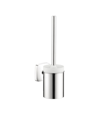 Hansgrohe 41505000 PuraVida Toilet Brush with Holder in Chrome