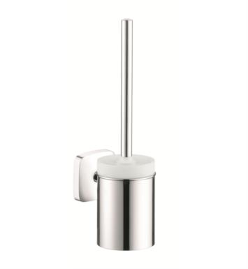 "Hansgrohe 41505000 PuraVida 3 1/4"" Toilet Brush with Holder in Chrome"