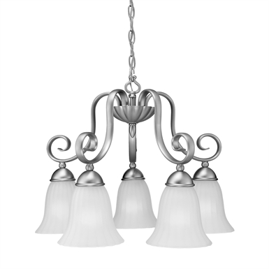 Kichler 1826 Willowmore Collection Chandelier 5 Light