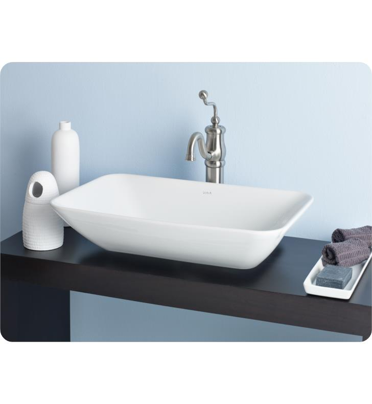 cheviot bathroom sinks cheviot 1274 wh element 23 5 8 quot single bowl vessel sink in 12312