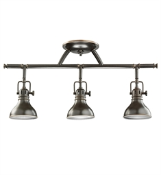 Kichler Fixed Rail 3 Light Halogen in Olde Bronze