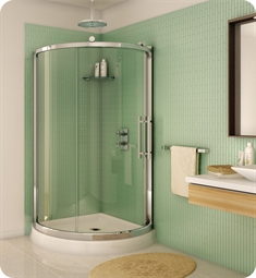 Fleurco Forte Sorrento Arc Corner Shower Enclosure
