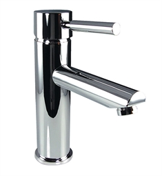 Fresca FFT1040CH Tartaro Single Hole Mount Bathroom Faucet in Chrome