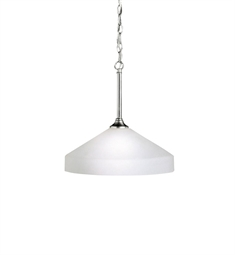 Kichler Ansonia Collection Pendant 1 Light in Brushed Nickel